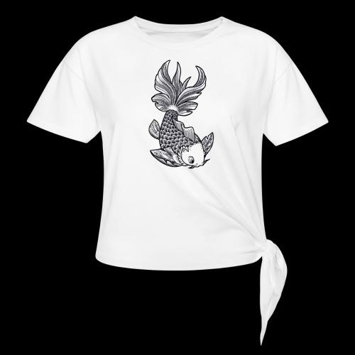 Pesce Tattoo Flash - Maglietta annodata