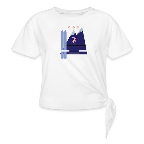 Shirt Motiv Mellau Damüls - Knotenshirt