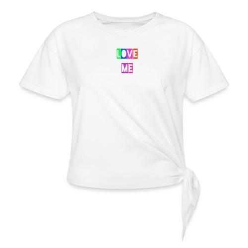 LoveMe - Camiseta con nudo mujer