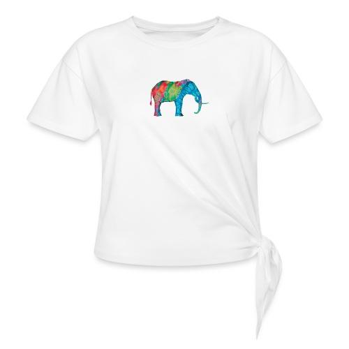 Elefant - Knotted T-Shirt