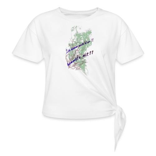 komm klar - Frauen Knotenshirt
