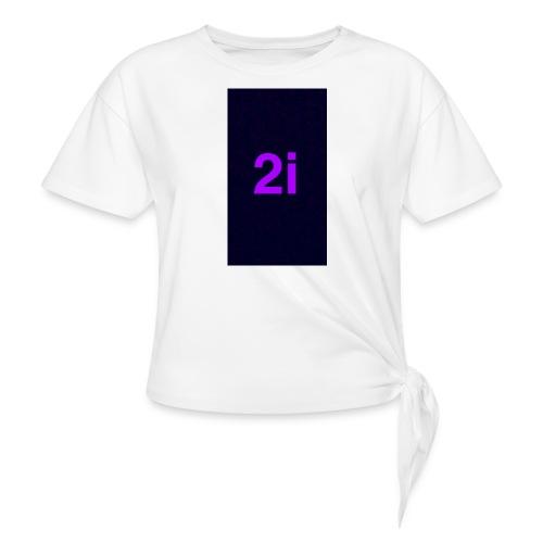2i - T-shirt à nœud