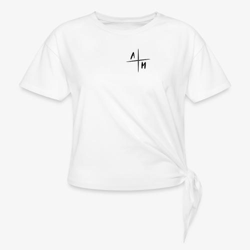 AltijdMitchell Cross Logo - Vrouwen Geknoopt shirt