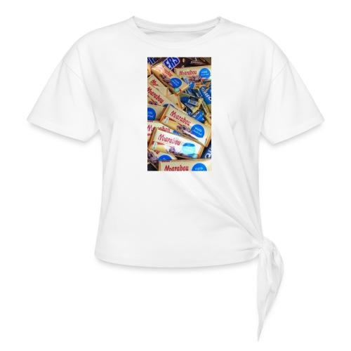 EAC4CD8B D35B 49D7 B886 9A724146DD0D - T-shirt med knut