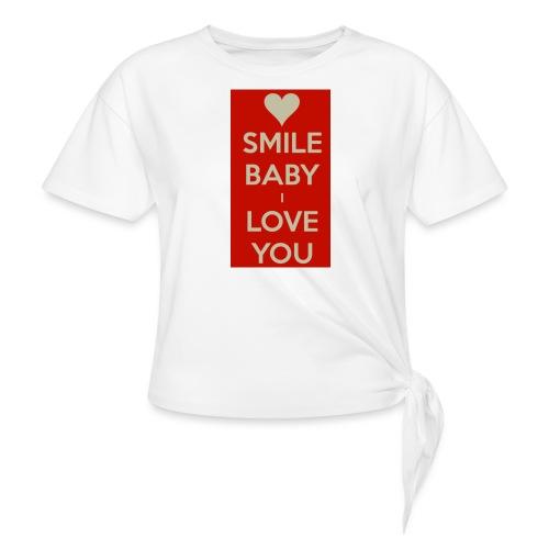13EA371C 7A76 4027 BF26 429EE3809D0D - T-shirt med knut