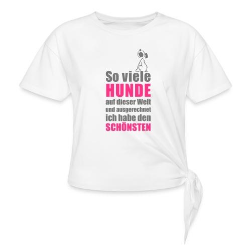 Vorschau: Der schönste HUND - Frauen Knotenshirt