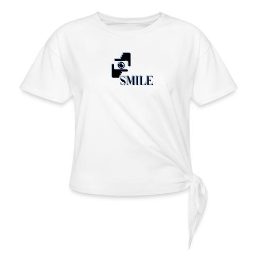 Smile - T-shirt à nœud