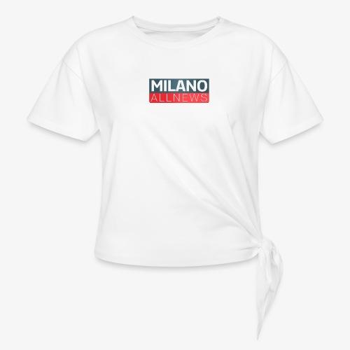 Milano AllNews Logo - Maglietta annodata