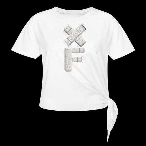 XF Xanax Logo - Frauen Knotenshirt