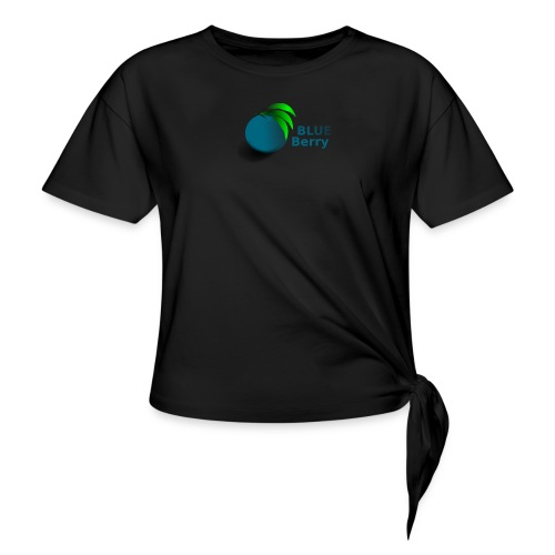 berry - Women's Knotted T-Shirt