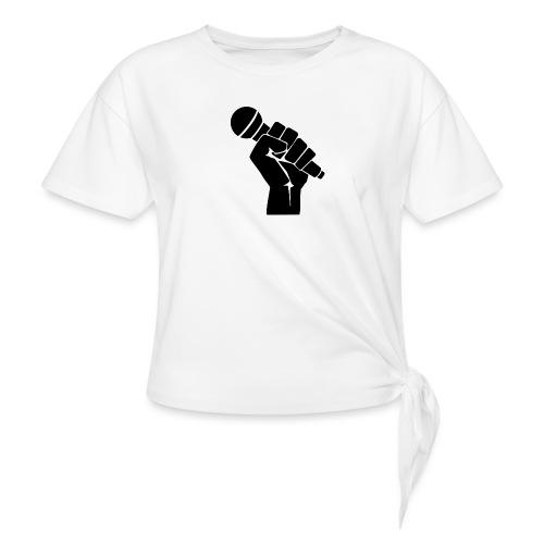 RAP, RAPERO - Camiseta con nudo mujer