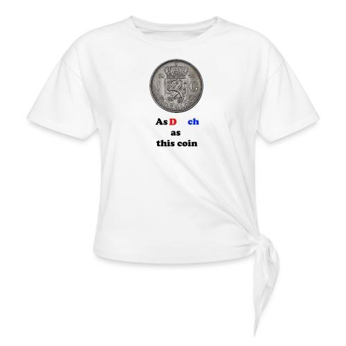 Hollandse Gulden - Vrouwen Geknoopt shirt