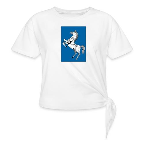 Danse équestre - T-shirt à nœud Femme