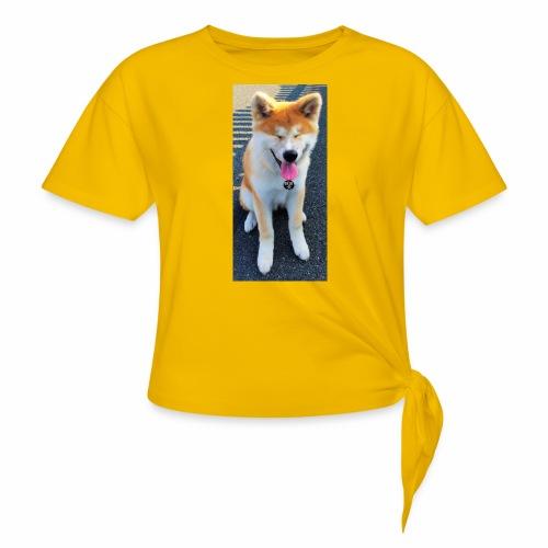 Akita Yuki - Women's Knotted T-Shirt