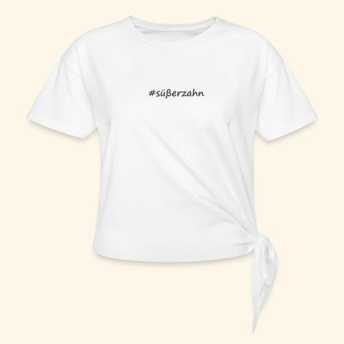 sweettooth - Frauen Knotenshirt