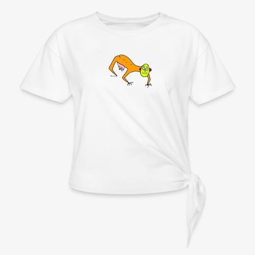 The Man - T-shirt med knut dam
