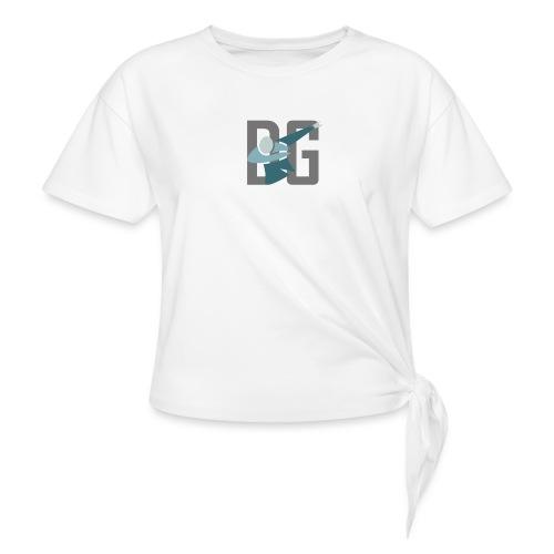 Original Dabsta Gangstas design - Knotted T-Shirt