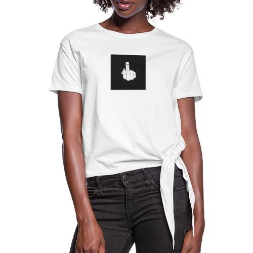 fu** - T-shirt à nœud