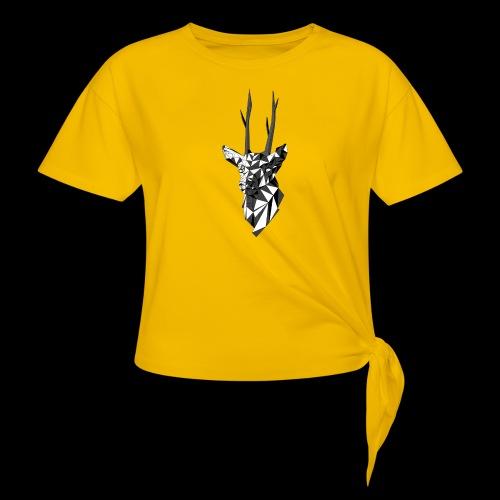 Polygoon Hert - Vrouwen Geknoopt shirt