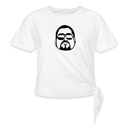 cool guy - Vrouwen Geknoopt shirt