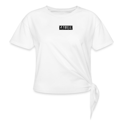 MyLogoUpdate - Women's Knotted T-Shirt