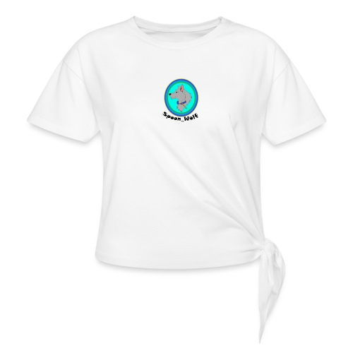 Spoon_Wolf_2-png - Knotted T-Shirt