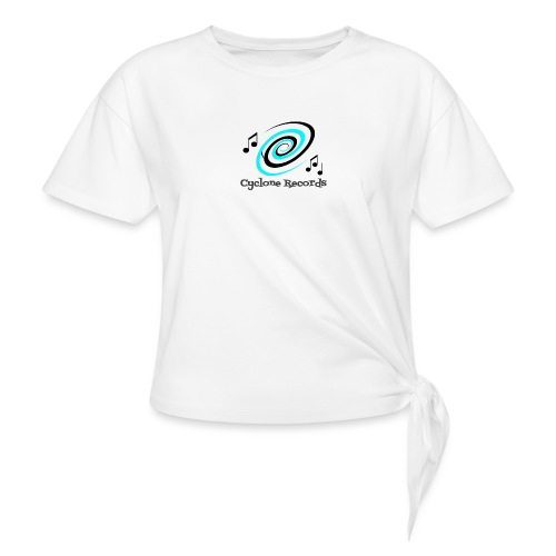 cyclone trans - Knotted T-Shirt
