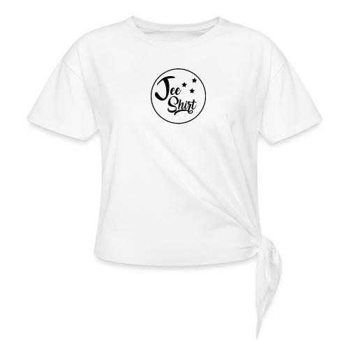 JeeShirt Logo - T-shirt à nœud Femme