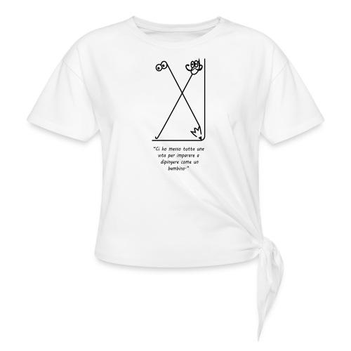 strumenti creativi - Maglietta annodata