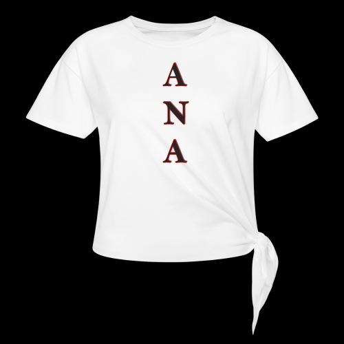 ANA - Camiseta con nudo mujer