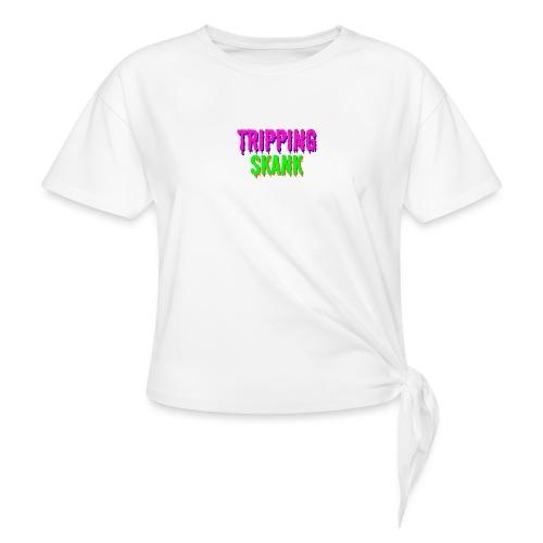 TRIPPING VAN DE SKANK - Vrouwen Geknoopt shirt