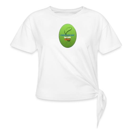 unnamed_opt-png - T-shirt à nœud Femme