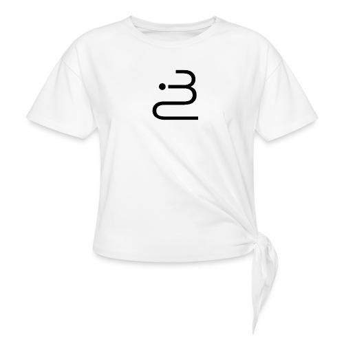 logobottega - Maglietta annodata da donna