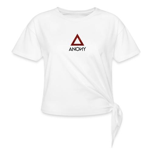 Anony Logo - Camiseta con nudo mujer