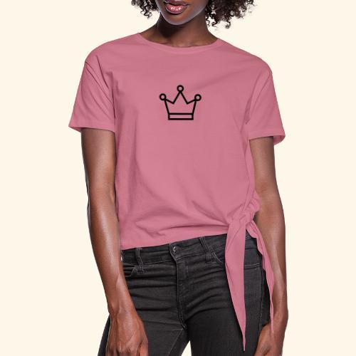 The Queen - Dame knot-shirt