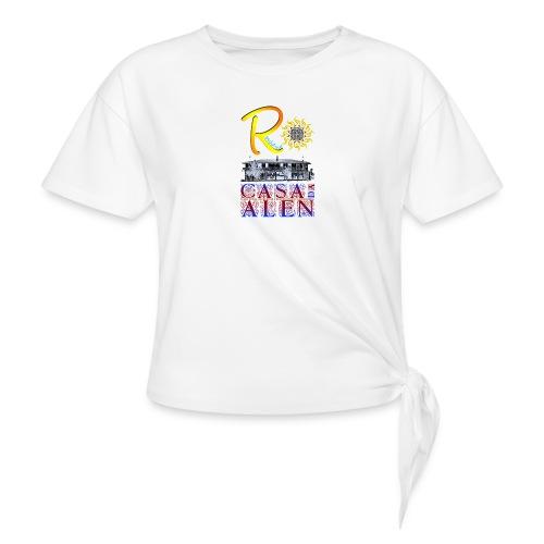RESOLAINA - Camiseta con nudo