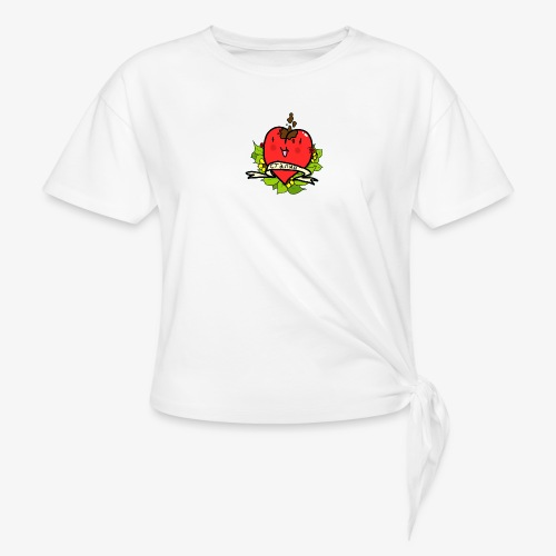 Soviet Heart - T-shirt med knut dam