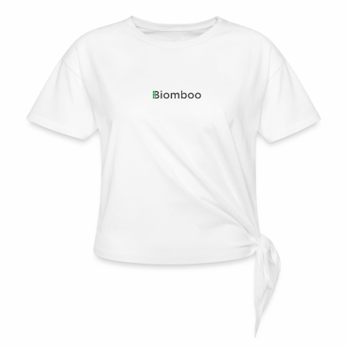 Biomboo Charcoal - Women's Knotted T-Shirt