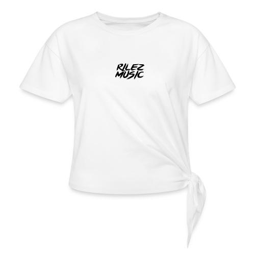 Camiseta de pico rilez - Camiseta con nudo