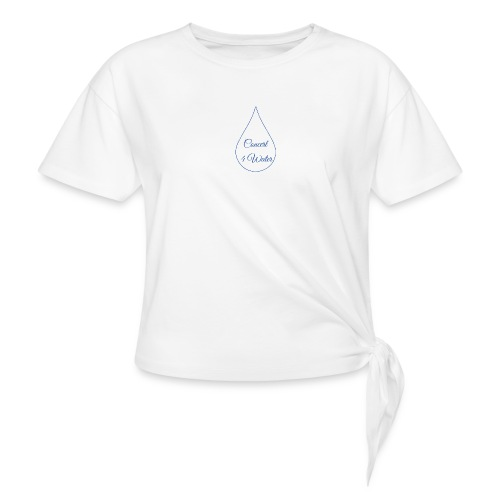 Concert 4 Water's Image Logo - Knotted T-Shirt