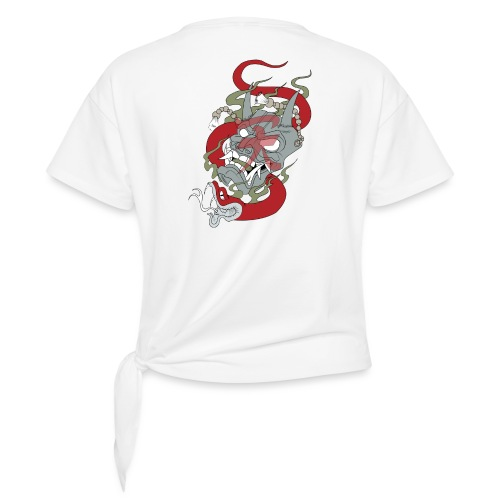 Démon - T-shirt à nœud