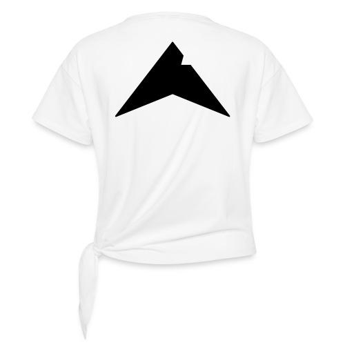 UP-CLAN Logo - Vrouwen Geknoopt shirt