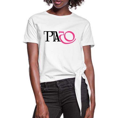 Jag är Pia - T-shirt med knut dam