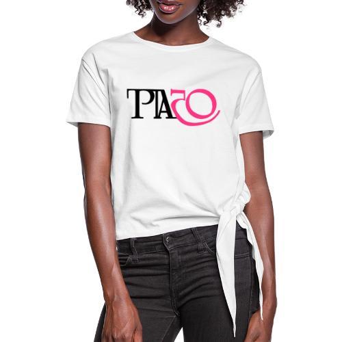 Jag firar Pia - T-shirt med knut dam