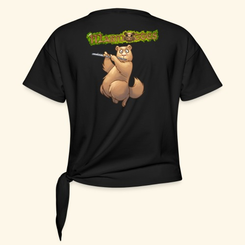 Tshirt Flute dos 2 - T-shirt à nœud