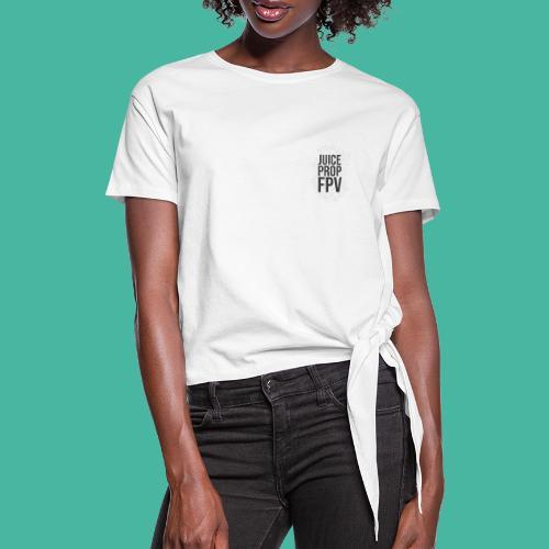 JuicePropFPV LOGO Pile Double sided - Frauen Knotenshirt