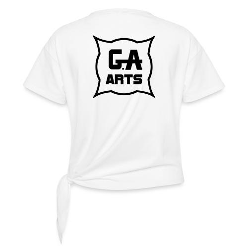 G.A.Arts - T-shirt à nœud