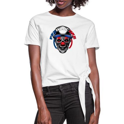 Frenchcore Clown - Frauen Knotenshirt