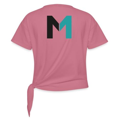Logo M - Frauen Knotenshirt