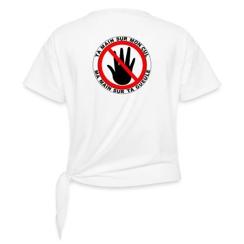 INTERDIT - T-shirt à nœud